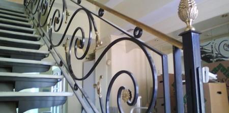Archivo de etiqueta para baranda hierro escalera cerrajeria espasa - Barandas de hierro modernas ...