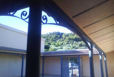 Estructura para patio chalet