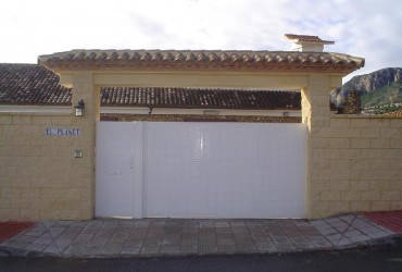 Puertas métalicas para exterior
